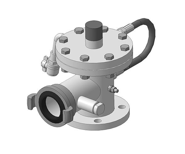 Клапан запорно-регулирующий (КРЗ)