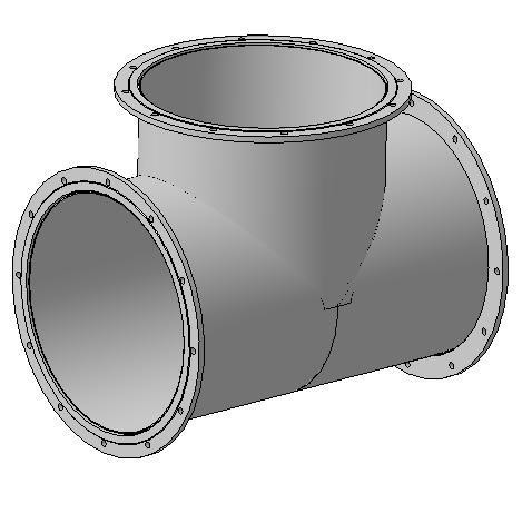 Элементы дегазационного трубопровода ЭДТ