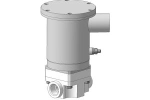 Клапан электромагнитный шахтный КЭМШ